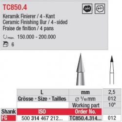 Fraise à finir - TC850.4.314.012