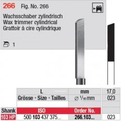 Grattoir à cire cylindrique - 266.103.023