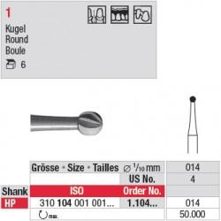 Fraise en acier ronde - 1.104.014