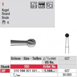Fraise en acier ronde - 1.104.027