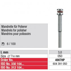 Mandrins pour polissoirs - 4007HP