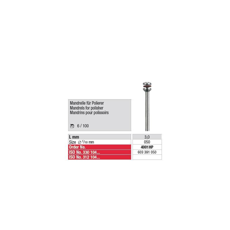 Mandrins pour polissoirs - 4001HP