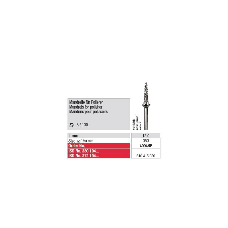 Mandrins pour polissoirs - 4004HP