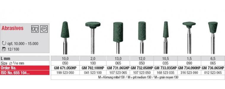 Abrasif GM - céramique et ZrO2
