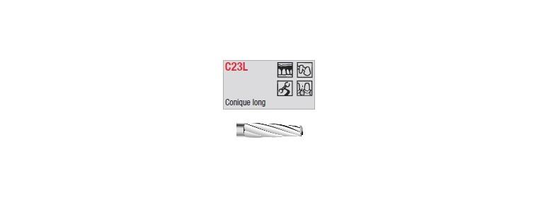 C23L - conique longue