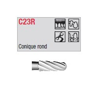 C23R - conique ronde
