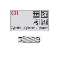 C31 - cylindrique croisée