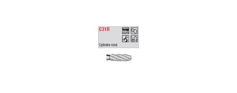 C31R - cylindrique croisée ronde