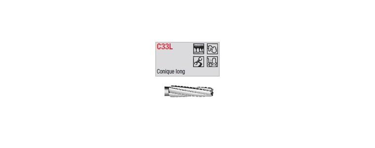 C33L - conique croisée longue