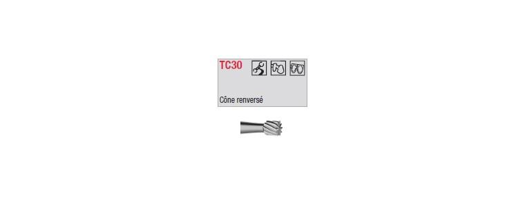 TC30 - conique renversée