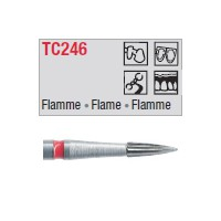 TC246 - flamme mince