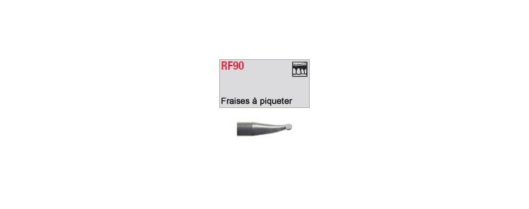 RF90 - fraise à piqueter