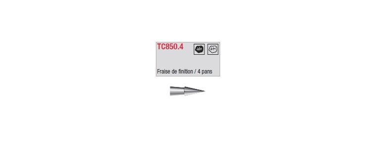 TC850.4 - finition 4 pans