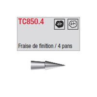 TC850.4 - finition 4 pans