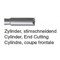 207 - cylindrique, coupe frontale
