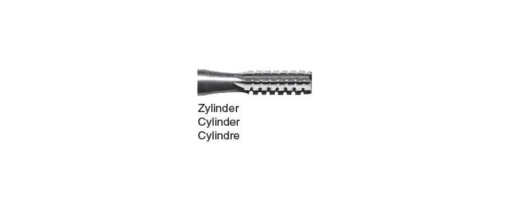 36 - cylindrique crantée