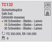 TC132 - Extrémité émoussée