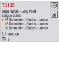 TC135 - Longue pointe