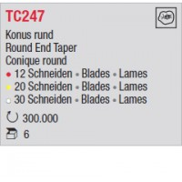 TC247 - Conique rond