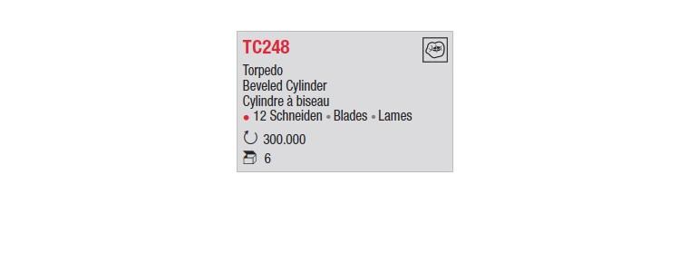 TC248 - Cylindre à biseau
