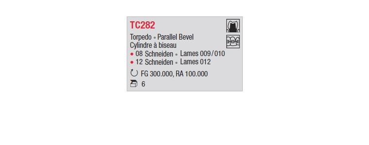 TC282 - Cylindre à biseau