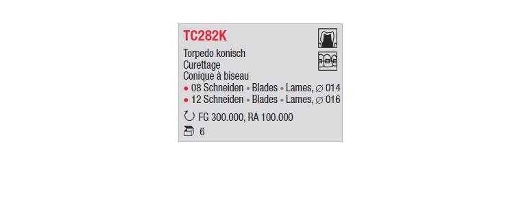 TC282K - Conique à biseau