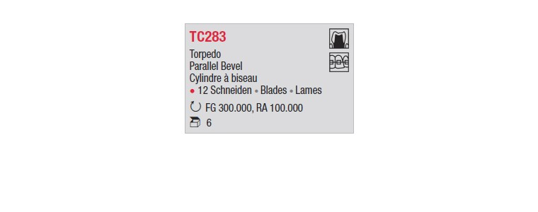 TC283 - Cylindre à biseau