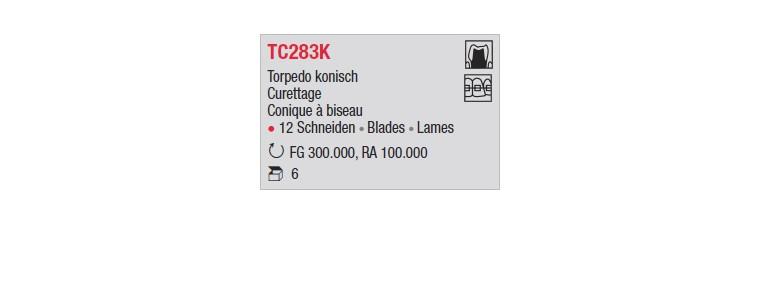 TC283K - Conique à biseau