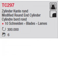 TC297 - Cylindre bord rond