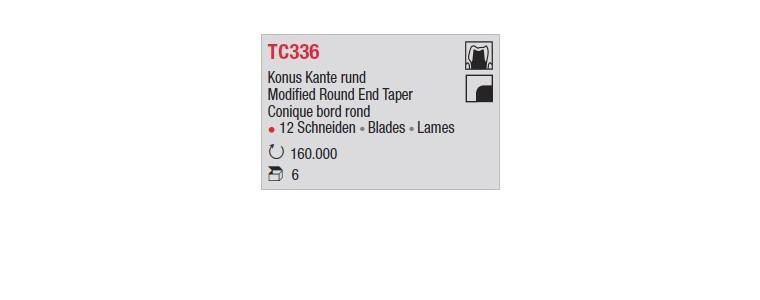 TC336 - Conique bord rond