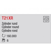 T21XR - Cylindre rond