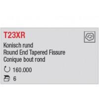 T23XR - Conique bout rond