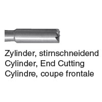 207 - Cylindre coupe frontale