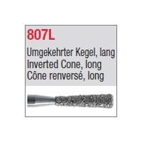 807L - Cône renversé, long