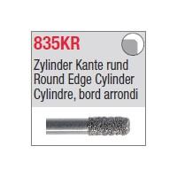 835KR - Cylindre, bord arrondi