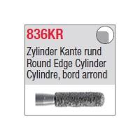836KR - Cylindre, bord arrondi