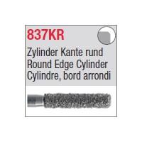 837KR - Cylindre, bord arrondi
