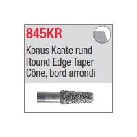 845KR - Cône, bord arrondi