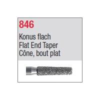 846 - Cône, bout plat