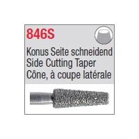 846S - Cône, à coupe latérale