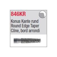 846KR - Cône, bord arrondi