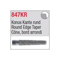 847KR - Cône, bord arrondi
