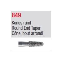 849 - Cône, bout arrondi