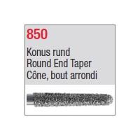 850 - Cône, bout arrondi