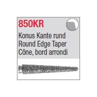 850KR - Cône, bord arrondi