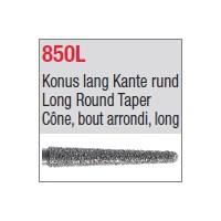 850L - Cône, bout arrondi, long