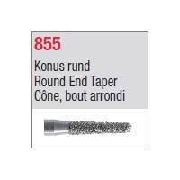 855 - Cône, bout arrondi