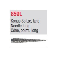 859L - Cône, pointu long