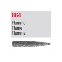 864 - Flamme