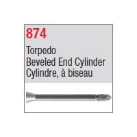 874 - Cylindre, à biseau
